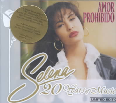 AMOR PROHIBIDO BY SELENA (CD)